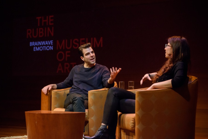 Zachary Quinto and Judith Grisel