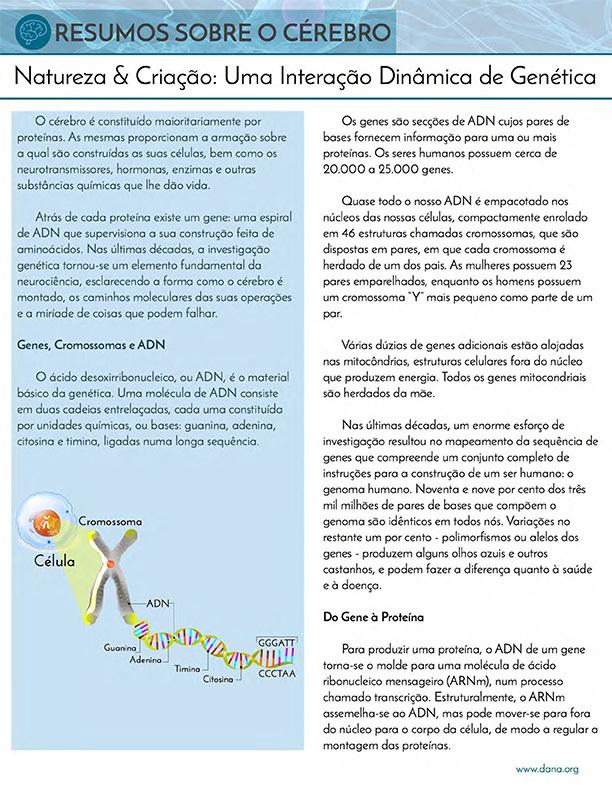 Nature and Nurture: Genetics (Portuguese)