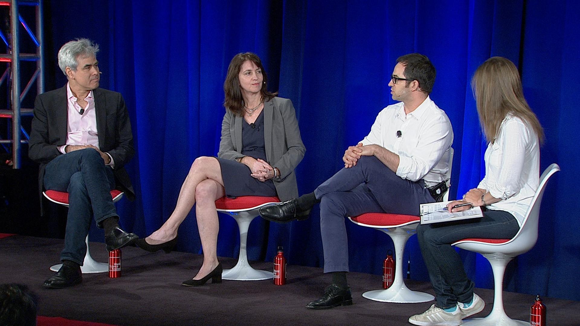panelists onstage