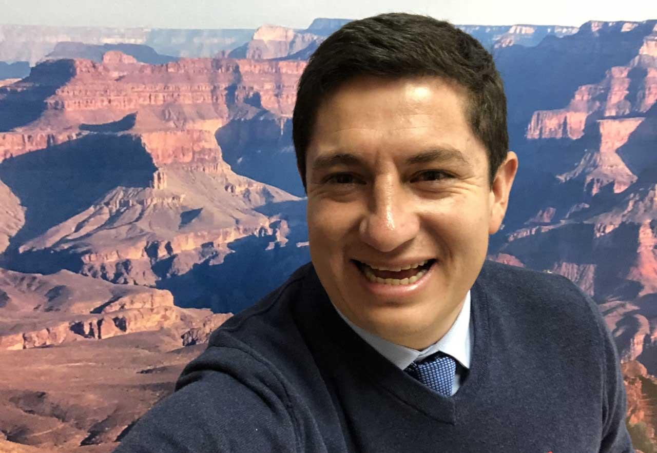 selfie at canyon